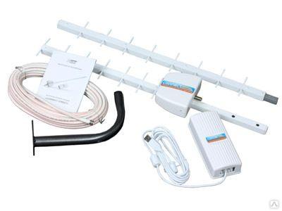 """Антенна """"Ультра"""" уличная (для USB-модема GSM,3G,4G LTE, UMTS, EDGE, HSDPA,, цена в Новосибирске от компании Радиомир — сеть розничных магазинов в Новосибирске"""