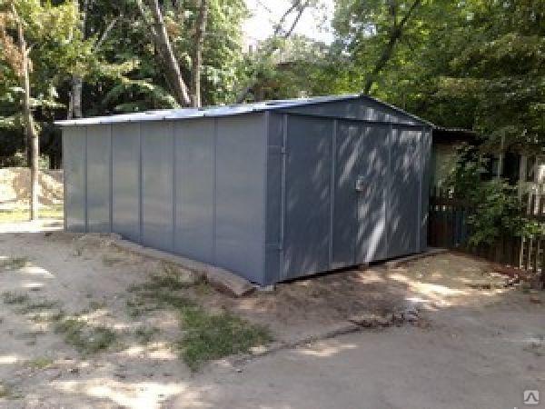 изготовление производство металлических сборных гаражей